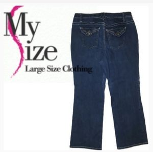 Just My Size Denim Blue Jeans 20